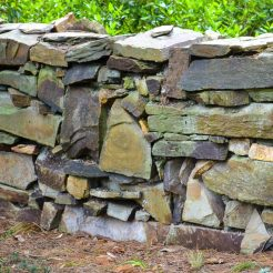 Edna Walling - Bickleigh Vale - The Village - Stone wall