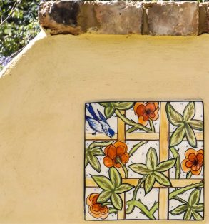The Secret Garden - Mary-lou Pittard Tiles - Inspired William Morris