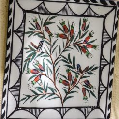 Secret Garden Wall tile by Mary-lou Pittard