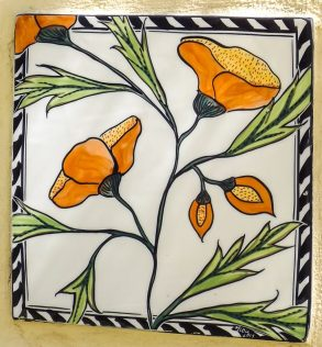 The Secret Garden - Mary-lou Pittard Tiles