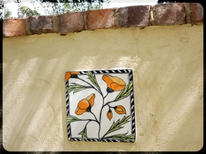 Secret Garden - Tiles by Mary-Lou Pittard