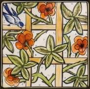 Secret Garden - Tiles by Mary-Lou P-13
