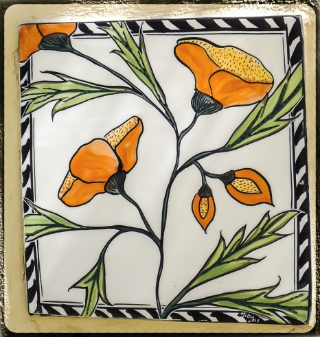 Secret Garden - Tiles by Mary-Lou P-8