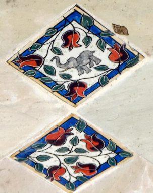 The Secret Garden - Mary-lou Pittard Tiles - Elephant Tile