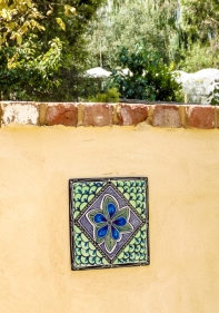 Summer tile with capping