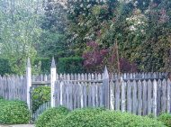 Alowyn Gardens - Vegetable Garden Fence