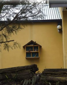 Bird Feeder made from Hard Rubbish Dolls House