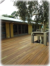 After - Spotted Gum Decking