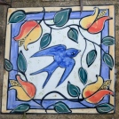 The Secret Garden - Mary-lou Pittard Tiles