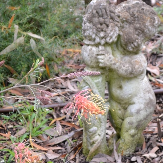 Statue in the Garden - recycled from the tip